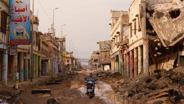 Ulice v iráském Mosulu - Sputnik Česká republika