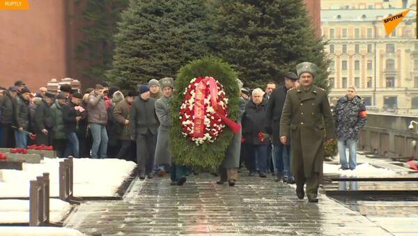 Komunisté v Rusku oslavují 66 let od smrti Stalina - Sputnik Česká republika