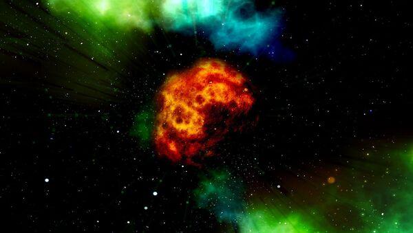 Ohnivé koule ve vesmíru - Sputnik Česká republika