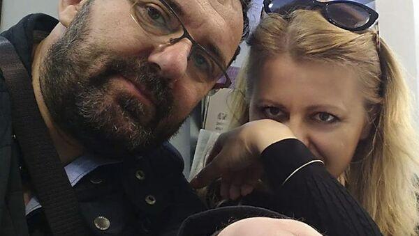 Peter Konečný a Zuzana Čaputová. - Sputnik Česká republika