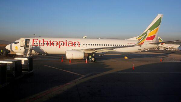 Letadlo společnosti Ethiopian Airlines. Ilustrační foto - Sputnik Česká republika
