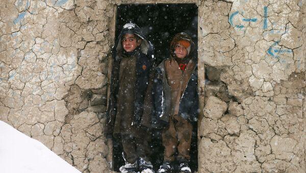 Děti v Kábulu, Afghánistán - Sputnik Česká republika