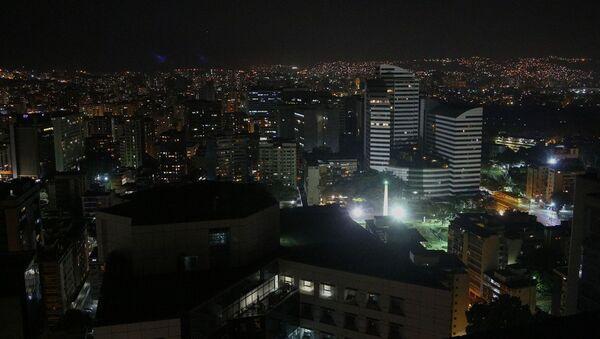 Caracas po blackoutu. Pohotovostní služby nedokázaly okamžitě dodávky elektřiny (7. 3. 2019) - Sputnik Česká republika