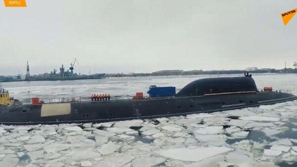 Podívejte se na nejmodernější ponorky ruského námořnictva - Sputnik Česká republika