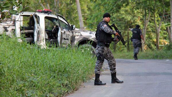 Brazilská policie. Ilustrační foto - Sputnik Česká republika