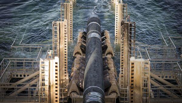 Výstavba Nord Stream 2 ve Švédsku - Sputnik Česká republika