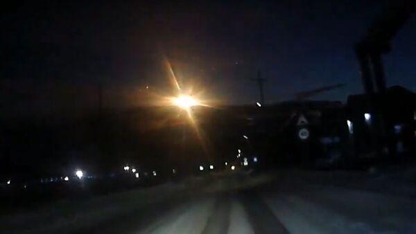 Na Sibiři byl pozorován objekt podobný meteoritu - Sputnik Česká republika