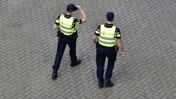 Policisté v Nizozemí - Sputnik Česká republika