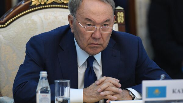 Prezident Kazachstánu Nursultan Nazarbajev - Sputnik Česká republika