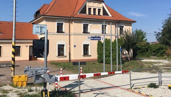 Hraniční přechod Slovenské republiky  - Sputnik Česká republika
