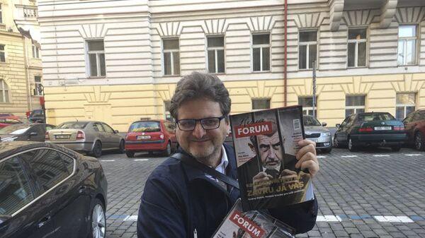 Šéfredaktor portálu Forum24 Pavel Šafr - Sputnik Česká republika