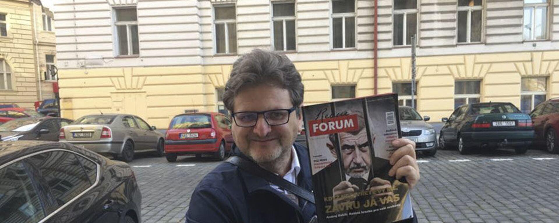 Šéfredaktor portálu Forum24 Pavel Šafr - Sputnik Česká republika, 1920, 03.09.2021