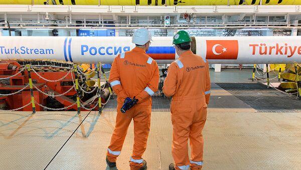 Symbolické potrubí Tureckého proudu - Sputnik Česká republika
