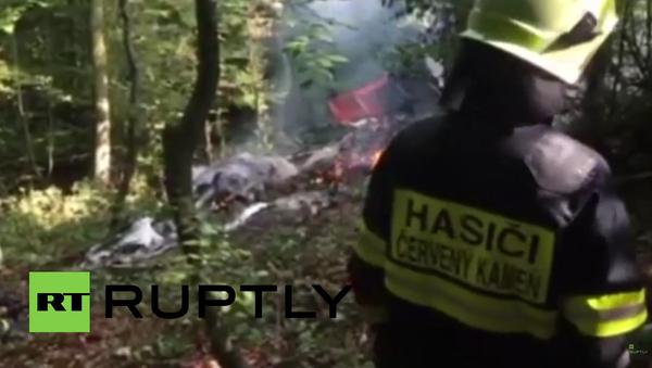 Srážku dvou letadel na Slovensku nepřežilo 7 lidí - Sputnik Česká republika