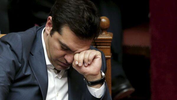 Ministerský předseda Řecka Alexis Tsipras - Sputnik Česká republika