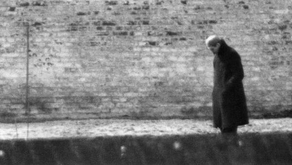 Nacistický zločinec Rudolf Hess v berlínské věznici Špandava - Sputnik Česká republika