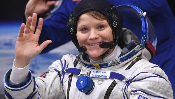 Astronautka Anne McClainová - Sputnik Česká republika