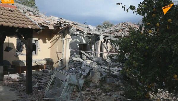 Válka bere všechno: V Izraeli bylo zraněno sedm lidí a z domu zůstaly jen  - Sputnik Česká republika
