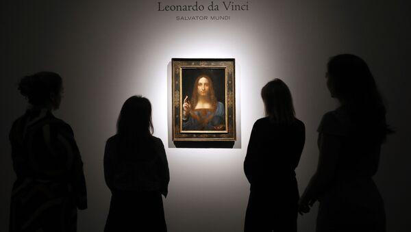 Obraz Leonarda da Vinciho Spasitel světa  (Salvator Mundi) - Sputnik Česká republika