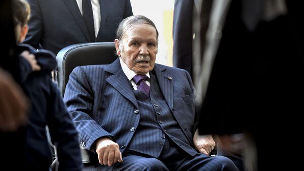 Alžírský prezident Abdal Azíz Buteflika - Sputnik Česká republika