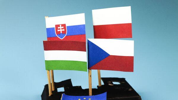 Vlajky V4 - Sputnik Česká republika