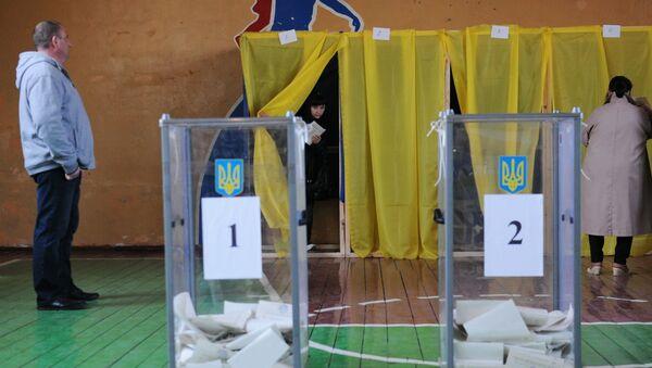 Ukrajinské prezidentské volby - Sputnik Česká republika