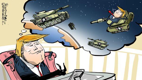 USA přece jen touží po hvězdných válkách - Sputnik Česká republika