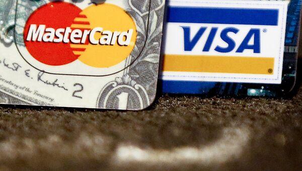 Platební karty VISA a MasterCard - Sputnik Česká republika
