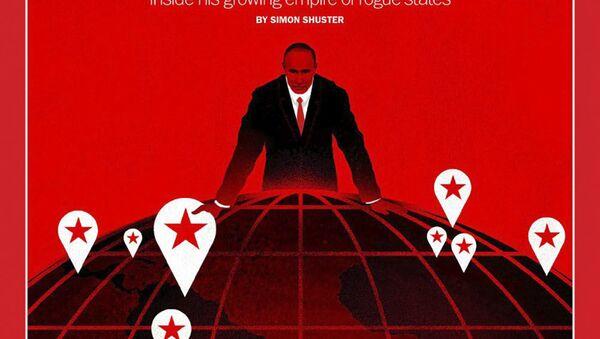 Časopis Time - Sputnik Česká republika