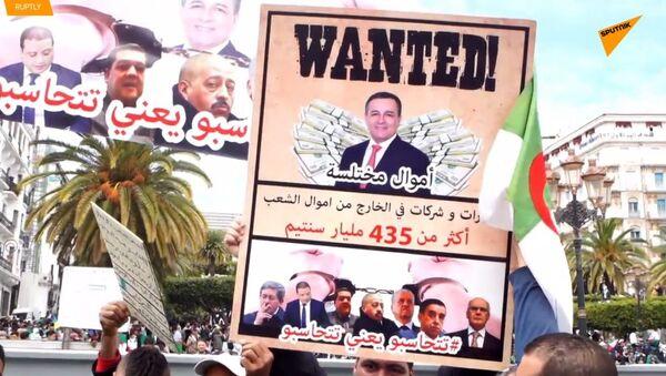 """Alžírská anarchie? Demonstranti požadují """"nové tváře"""" a rezignaci Butefliky - Sputnik Česká republika"""