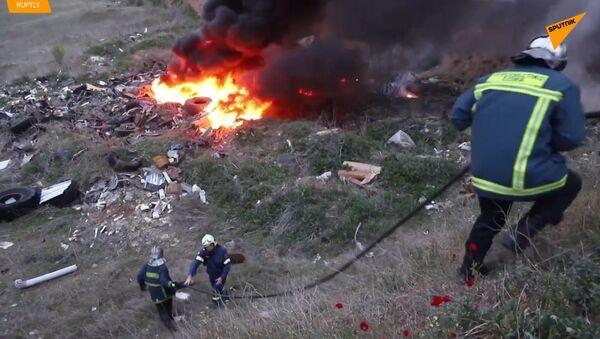 Hrozivý boj s policií: Jak se uprchlíci v Řecku zotavují po tomto střetu - Sputnik Česká republika