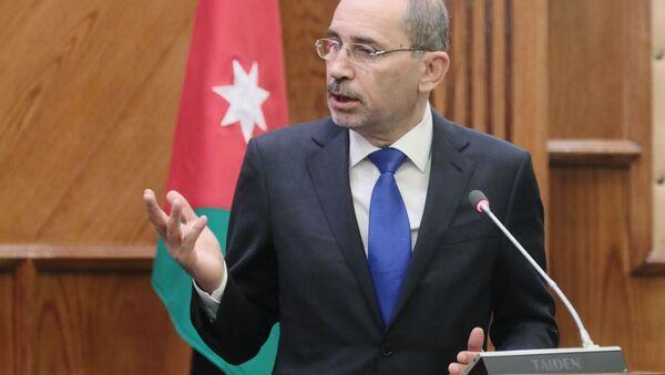 Jordánský ministr zahraničí Ayman Safadi - Sputnik Česká republika