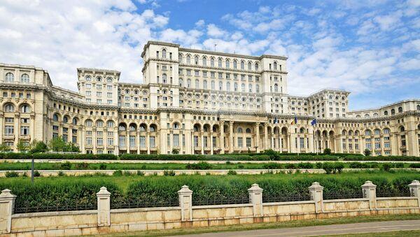 Budova senátu Rumunska v Bukurešti - Sputnik Česká republika