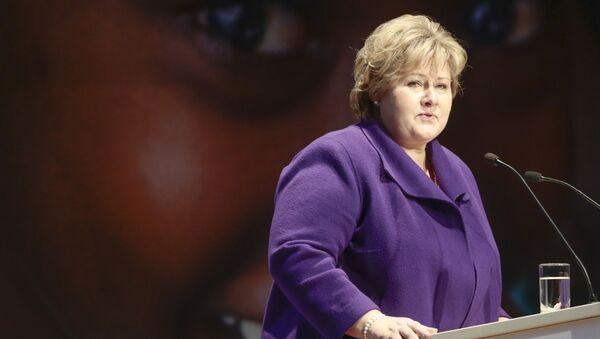 Premiérka Norska Erna Solbergová  - Sputnik Česká republika