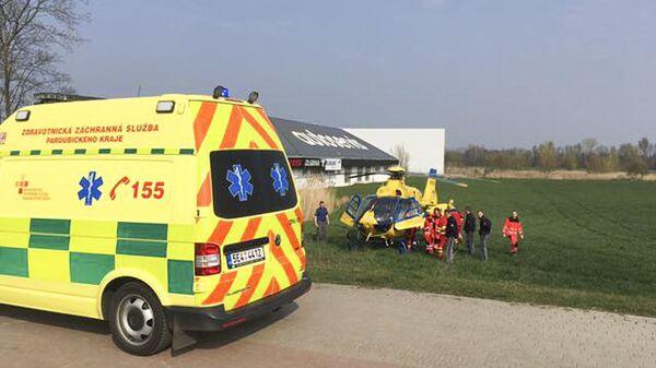 Záchranáři při zásahu. Illustrační foto - Sputnik Česká republika
