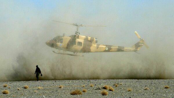Íránský vojenský vrtulník. Archivní foto - Sputnik Česká republika