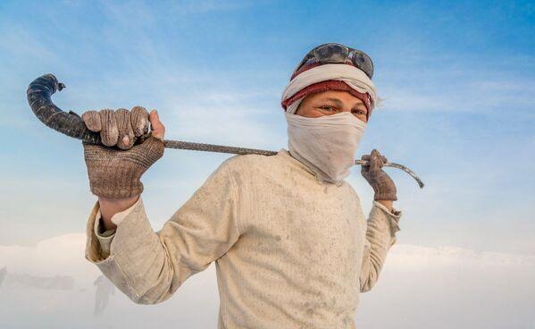 Foto z fotografické fotoreportáže The White Mountain od fotografa Anase Kamala, vítězství v nominaci Visible Light v soutěži infračervených fotografií Život v jiném světle - Sputnik Česká republika