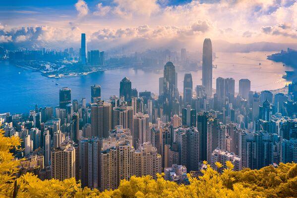 Foto ze série HongKong:  The Golden City od fotografa Trana Minha Dunga, druhé místo v kategorii Photo Essay v soutěži infračervených fotografií Život v jiném světle - Sputnik Česká republika