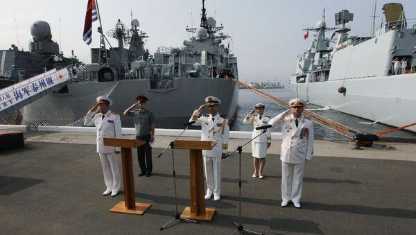Rusko a Čína zahájily cvičení Námořní součinnost - Sputnik Česká republika