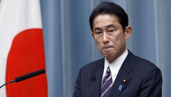 Ministr zahraničí Japonska Fumio Kishida - Sputnik Česká republika