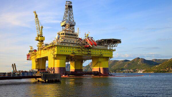 Těžba ropy v Norsku - Sputnik Česká republika