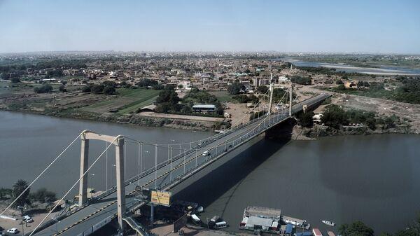 Výhled na hlavní město Súdánu Chatúm - Sputnik Česká republika