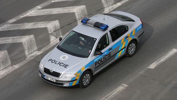 Policejní vůz v Praze - Sputnik Česká republika
