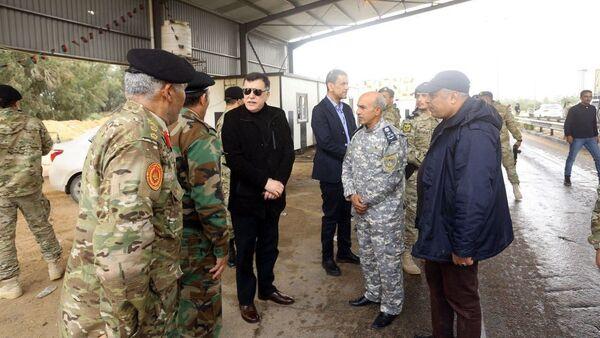 Předseda libyjské vlády Fayez Sarraj - Sputnik Česká republika