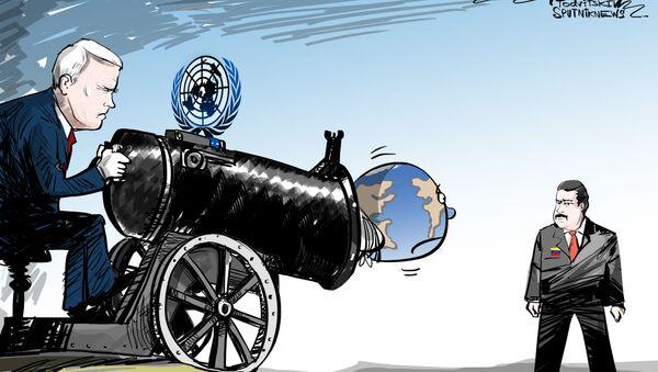 OSN jako nastroj útoku na Venezuelu - Sputnik Česká republika