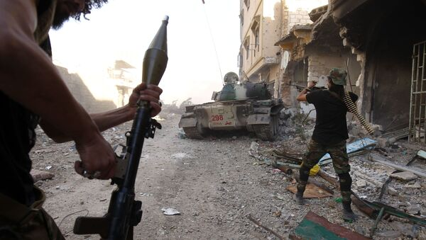 Operace Libyjské národní armády. Illustrační foto - Sputnik Česká republika