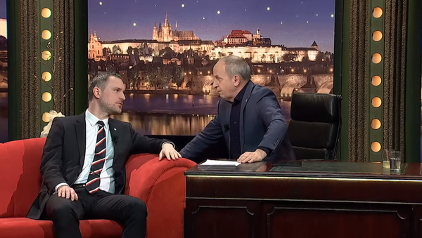 """""""Já jsem narvaný zážitky zadarmo."""" O čem diskutoval Kraus s primátorem Hřibem? - Sputnik Česká republika"""