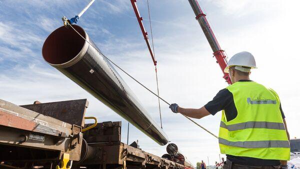 Stavba plynovodu EUGAL v Německu - Sputnik Česká republika