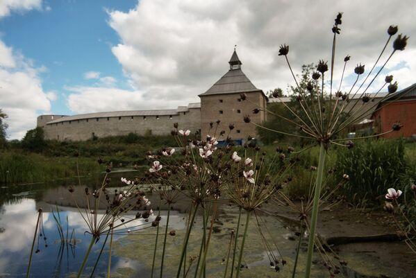 Pohled na pevnost ve Staré Ladoze. - Sputnik Česká republika