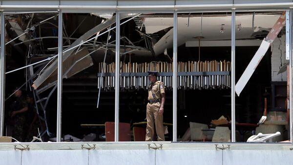 Policista v Kolombu. Ilustrační foto - Sputnik Česká republika